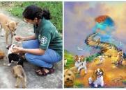 COMO PROTETORA DE ANIMAIS FOI RECEBIDA NA PONTE DO ARCO-ÍRIS (LINDÍSSIMA HISTÓRIA)