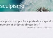 PARE COM O DESCULPISMO - CHICO XAVIER