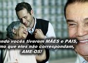 Divaldo Franco fala sobre a importância de se amar aos Pais - Todo o filho deveria ver essa mensagem!