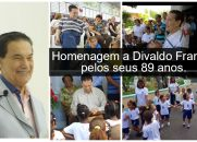 Homenagem a Divaldo Franco pelos seus 89 anos.