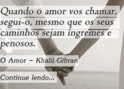 O Amor - Khalil Gibran جبران خليل جبران