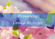 Primavera - Cecília Meireles - Poesia
