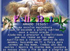 Feliz Aniversário Amado Jesus - Suplica do Natal