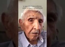 Senhor de 103 anos EMOCIONA A TODOS com a sabedoria dos seus ENSINAMENTOS! (Todos deveriam ver esse vídeo)