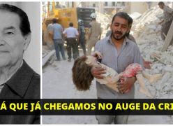 DIVALDO FRANCO - SERÁ QUE JÁ CHEGAMOS NO AUGE DA CRISE?