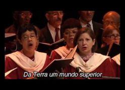 Hino a Allan Kardec cantado ao vivo por Coral - Lindo