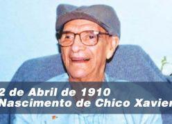 Homenagem aos 107 Anos do Nascimento de Chico Xavier