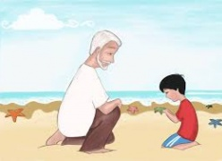 O Menino e a Estrela-do-Mar