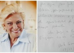 """Médium afirma ter recebido uma mensagem psicografada de Hebe Camargo, """"AQUI EXISTE VIDA""""!"""