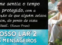 Ator que fez André Luiz fala sobre as gravações do novo filme