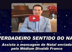Como devemos celebrar o Natal (O verdadeiro sentido do Natal) - Divaldo Franco