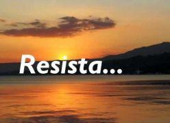 Resista... Mensagem para Momentos Difíceis!