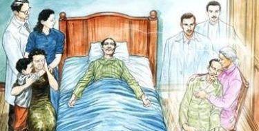 Por que as pessoas doentes as vezes melhoram e logo depois desencarnam?