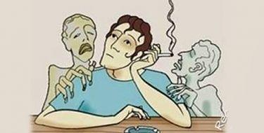 DEPOIMENTO DE UM FUMANTE APÓS O DESENCARNE - O FUMANTE RARAMENTE FUMA UM CIGARRO SOZINHO