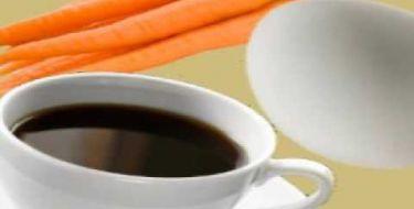 Cenoura, ovo ou café? Pense nisso!