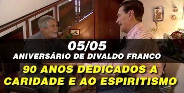 90 ANOS DE DIVALDO FRANCO - EM ENTREVISTA INÉDITA O MÉDIUM CONTA UM POUCO SOBRE SUA TRAJETÓRIA DE VIDA