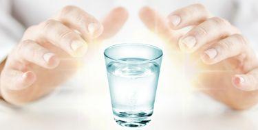 Oração para Fluidificação da Água - Prece Espírita