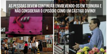 Divaldo Franco fala sobre a tragédia da Kiss - As pessoas devem continuar envolvendo-os em ternura e não considerar o episódio como um castigo divino!