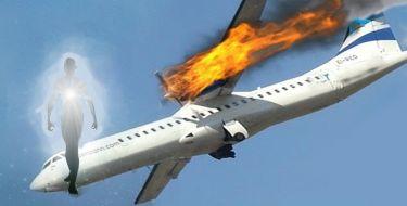 Descrição de um Acidente Aéreo por um Espírito