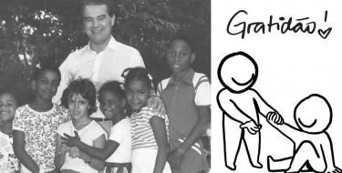 A gratidão não é agradecimento, gratidão se expressa com ações - Divaldo Franco