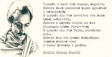 Sobre o Amor - Texto do Poeta Libanês Khalil Gibran Khalil