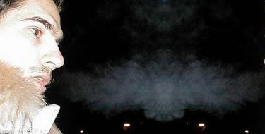 Sensações de Frio relatadas por um Médium Duramente Comunicação com Espírito
