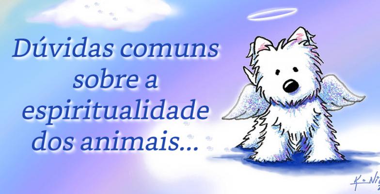 Mensagem Dúvidas Comuns Sobre A Espiritualidade Dos Animais