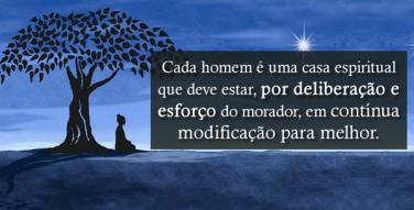 Cada homem é uma casa espiritual que deve estar, por deliberação e esforço do morador,…