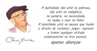A humildade não está na pobreza, não está na indigência, na penúria, na necessidade, na…
