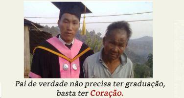 Este pobre agricultor apoiou o seu filho até a universidade.  No dia da formatura, o…