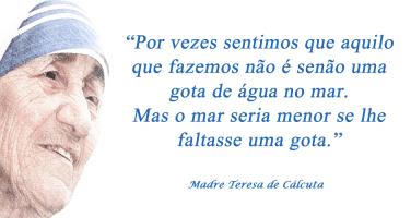 Madre Teresa De Cálcuta Mensagens E Frases Mensagem Espírita