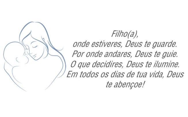 Filho(a), Onde Estiveres, Deus Te Guarde...