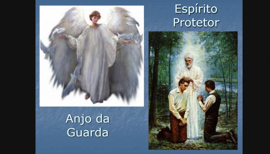 Mensagem em Vídeo - Anjos da Guarda, Espíritos Protetores