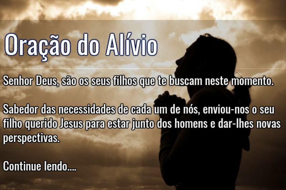 Por Miltinho De Carvalho Uma Mensagem: Oração Do Alívio