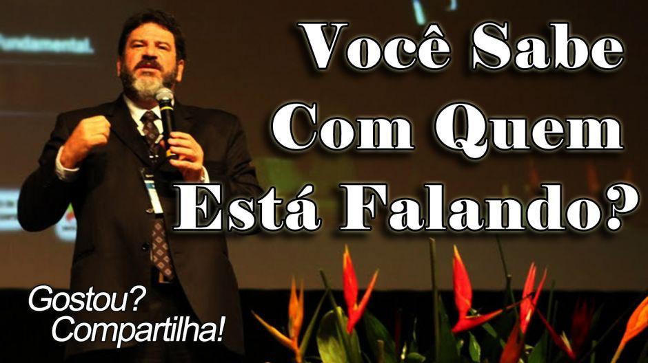 3eba9e26829 Mensagem em Vídeo - Você sabe com quem está falando  - Palestra de Mario  Sergio Cortela